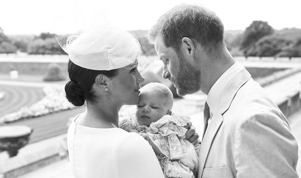 Meghan Markle news Archies christening was kept private Image GETTY