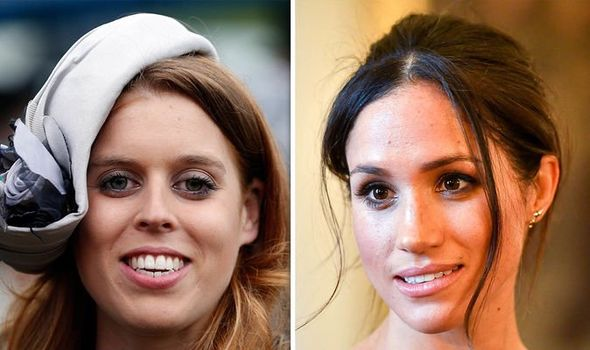 Meghan Markle news Are Meghan and Beatrice friends Image Getty