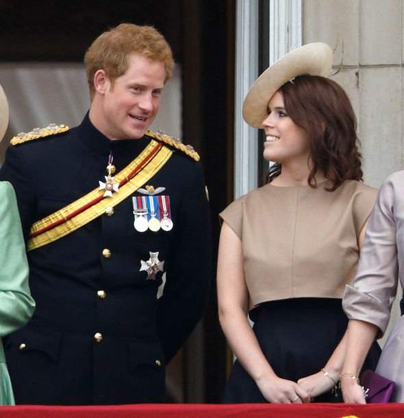 Meghan Markle news Harry and Eugenie ave long been known as the closest of the royal cousins Image Getty