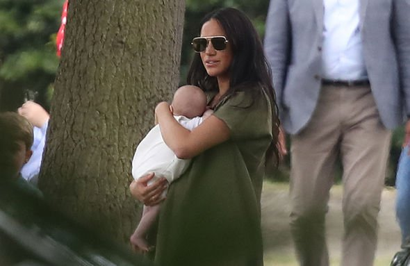 Meghan Markle news Meghan Harry and Archie will travel to South Africa in the autumn Image GETTY