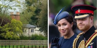 Meghan Markle shock How Meghan and Prince Harry wanted this home over Frogmore Cottage Image GETTY