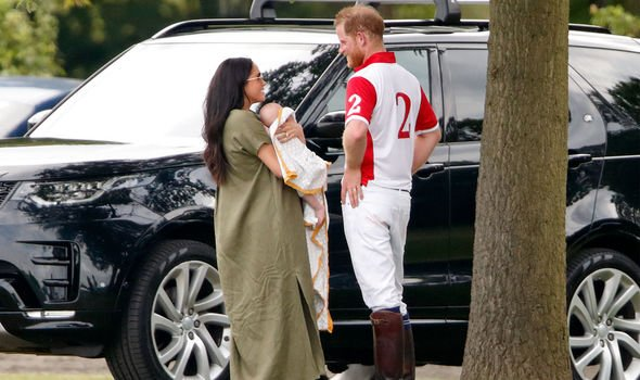 Meghan and Harry had Archie in Image GETTY