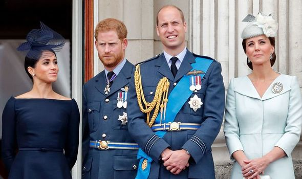 Meghan and Harry will not be joining William and Kate in Balmoral according to a royal source Image GETTY