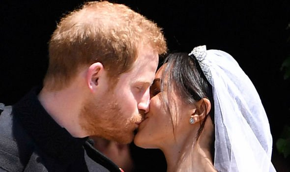 Meghan got married to Charles youngest son Prince Harry last May Image GETTY