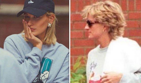 Mrs Bieber said Diana was her inspiration Image Hailey Bieber Instagram PA
