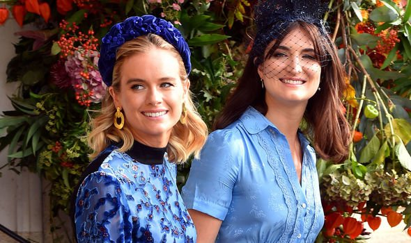 Ms Bonas with Princess Eugenie Image GETTY