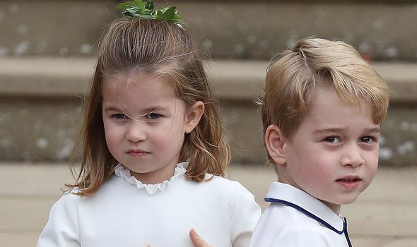 Online commentators jumped to the defence of Prince George Image GETTY