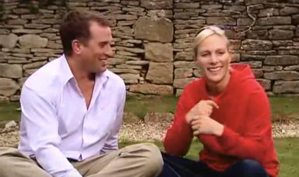 Peter Phillips and Zara Tindall Image YouTube homeleigh