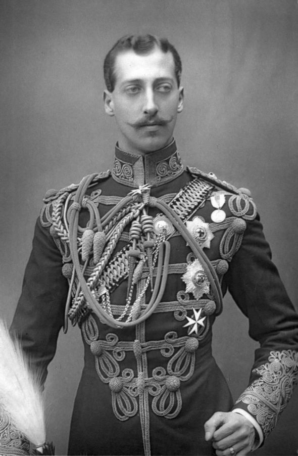 Prince Albert Victor known to his family as Eddy Image GETTY