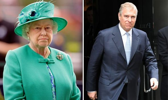 Prince Andrew humiliation How Queen didn't save Andrew from wrath of Windsor stable staff Image GETTY