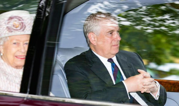 Prince Andrew humiliation Prince Andrew visited the Queen at Balmoral earlier this month Image GETTY