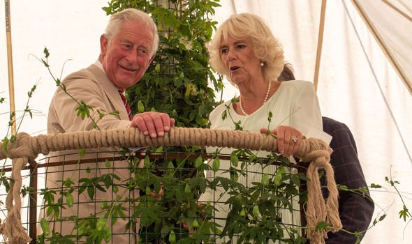 Prince Charles and Camilla Duchess of Cornwalls latest outing together in July Image Getty