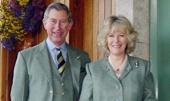 Prince Charles and Camilla at home in Birkhall Image Getty