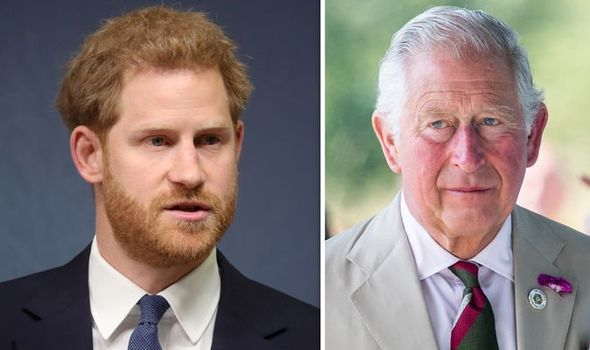 Prince Charles has forced Prince Harry to come to terms with his royal struggles Image GETTY