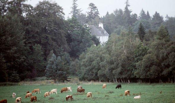 Prince Charles home Birkhall Image Getty