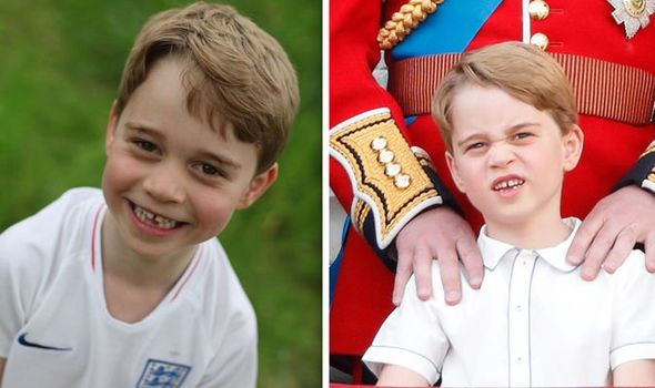 Prince George shock How the prince breaks this protocol Image Duchess of Cambridge GETTY