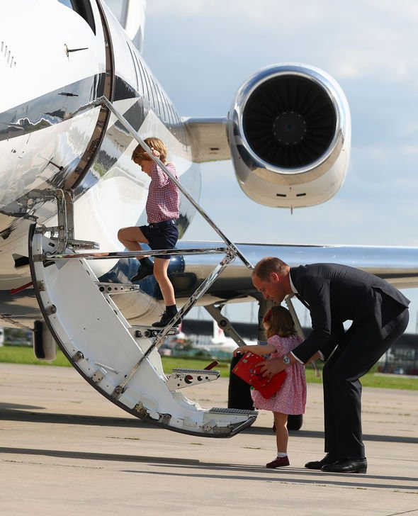 Prince George shock Prince George shouldnt fly with his dad according to the royal protocol Image GETTY