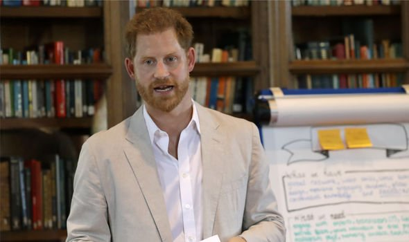 Prince Harry Duke of Sussex attends Dr Jane Goodalls Roots Shoots Global Leadership Meeting Image GETTY