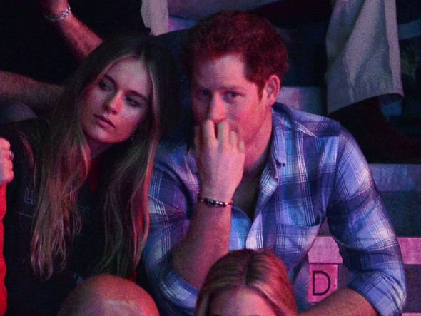 Prince Harry and Cressida Bonas are still said to be on good terms Image Getty