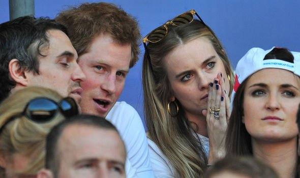 Prince Harry and Cressida Bonas dated from to Image Getty