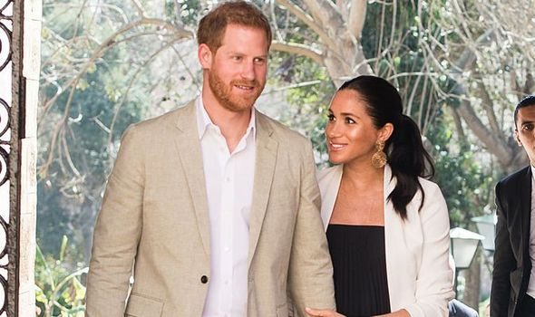 Prince Harry and Meghan Markle are very much in love Image Getty