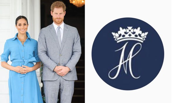 Prince Harry and Meghan Markle introduced a joint monogram Image GETTY