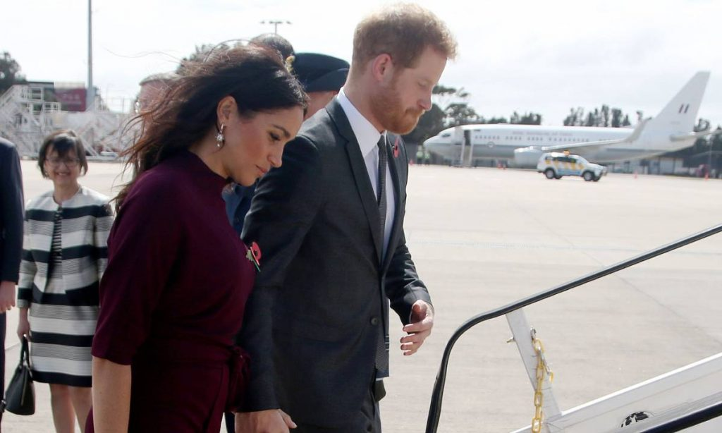 Prince Harry and Meghan Markle take baby Archie on holiday to France Photo C GETTY IMAGES