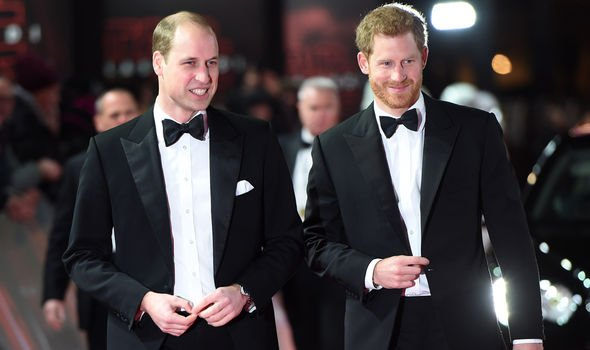 Prince Harry and Prince William are believed to be involved in a feud Image GETTY