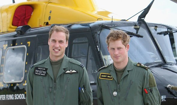 Prince Harry and Prince William attended their cousins stag do in Image GETTY