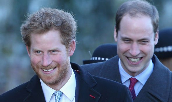 Prince Harry and Prince William have always been close the royal expert said Image GETTY
