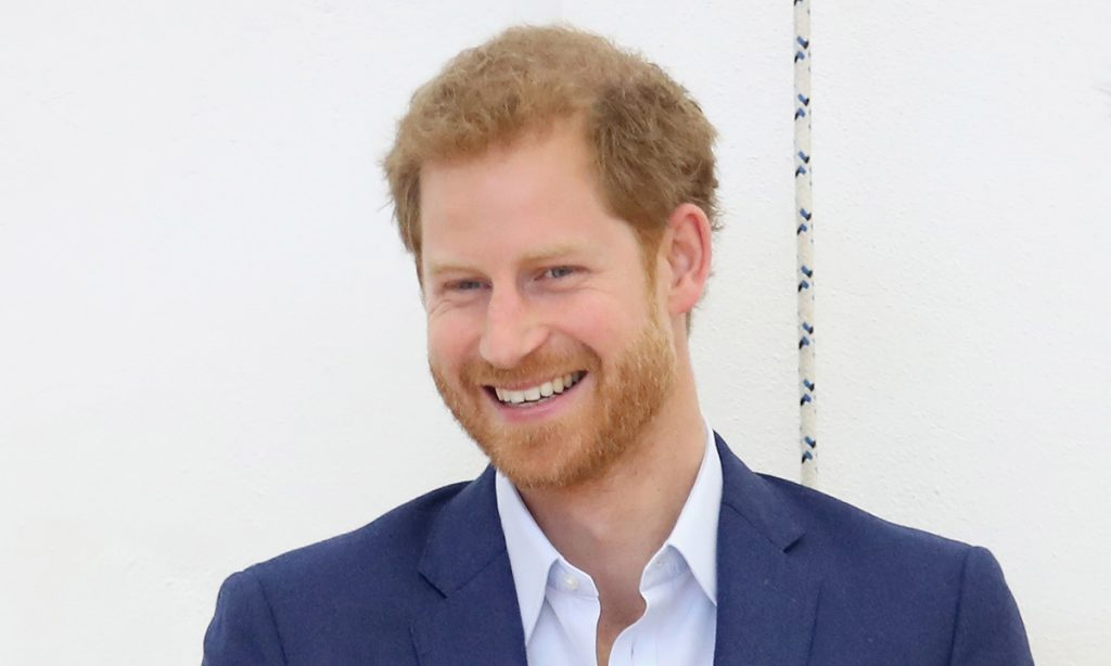 Prince Harry jokes he has been wearing budgie smugglers in personal letter Photo C GETTY IMAGES