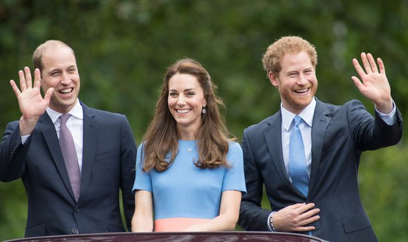 Prince Harry now looks distant from his brother Ms Junor said Image GETTY