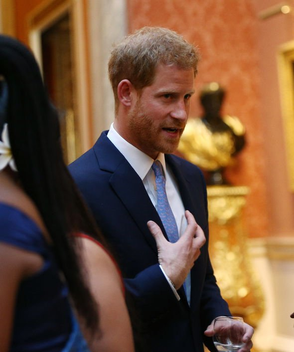 Prince Harry put climate change at the top of his political agenda Image GETTY