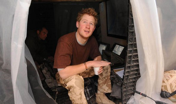 Prince Harry served in Afghanistan Image GETTY