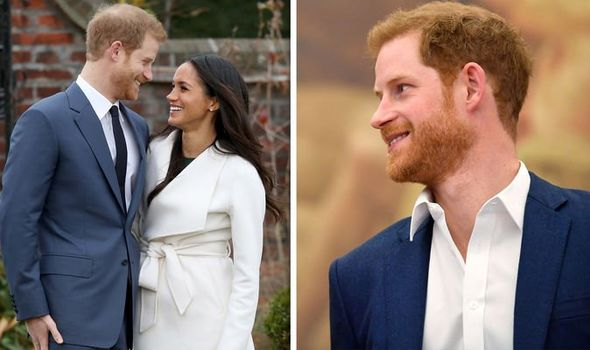 Prince Harry shock Duke enjoys surprising beauty treatment with wife Meghan Markle Image GETTY