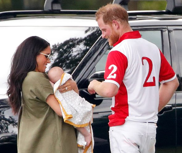 Prince Harry shock Harry and Meghan are busy first time parents Image GETTY