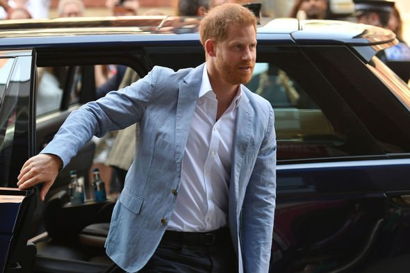 Prince Harry told off his brother for now showing Meghan enough support Image PA