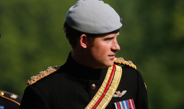 Prince Harry was in the military between and Image GETTY