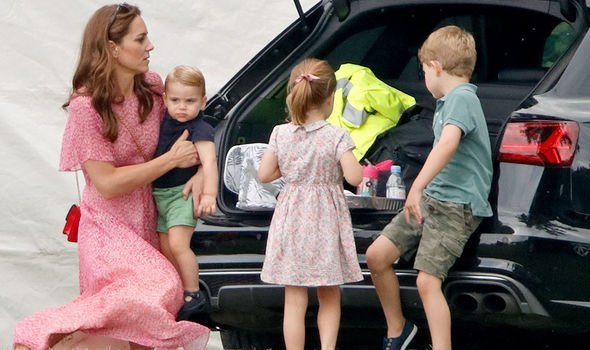 Prince Louis Princess Charlotte and Prince Geogre emjoy their summer holidays with their mum Image Getty