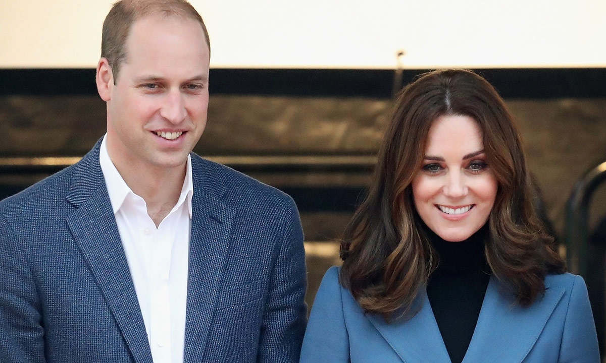 Range Rover Charlotte >> Prince William and Kate Middleton pictured in Balmoral ...