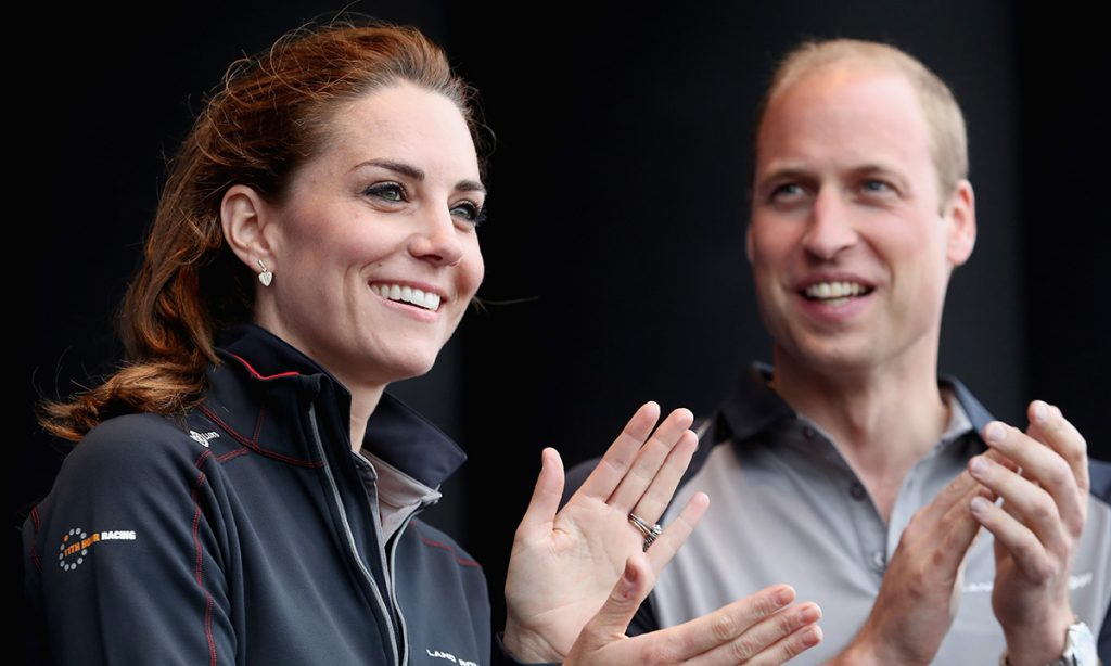 Prince William and Kate Middleton will be racing against these celebrities at next weeks regatta Photo C Getty Images