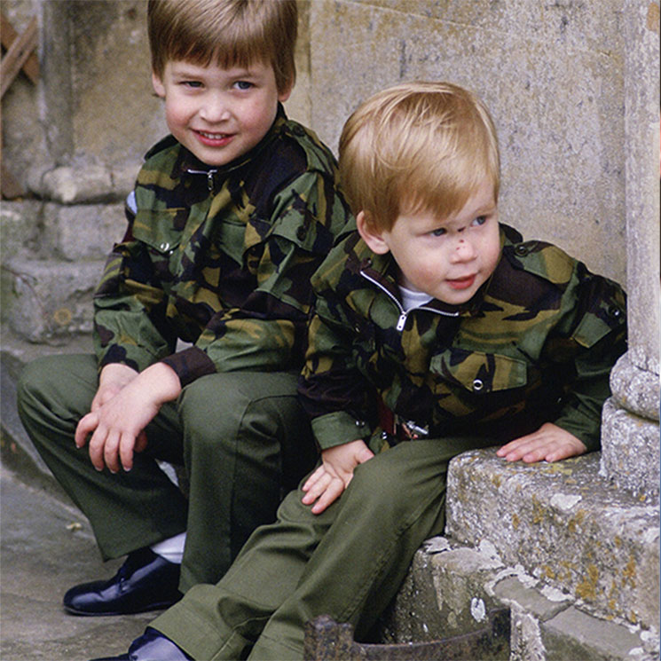 Prince William and Prince Harrys best brother moments – see photos Photo C GETTY IMAGES