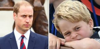 Prince William feared for his first son George the day he was born Image GETTY