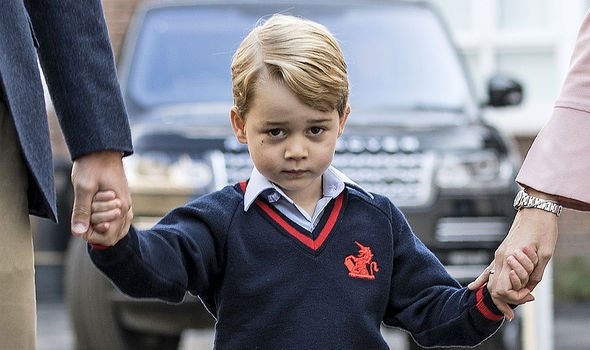 Prince William has previously said Prince George was enjoying his dance lessons Image GETTY