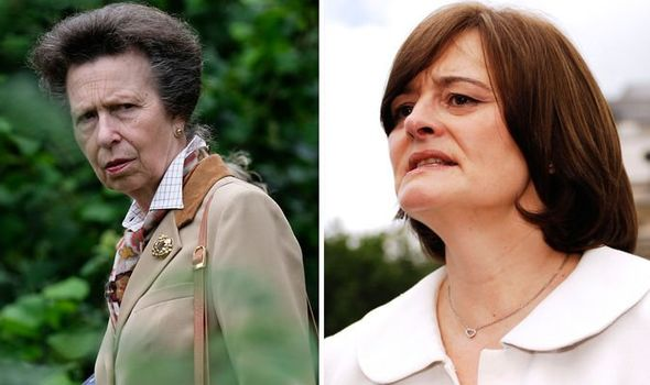 Princess Anne and Cherie Blair Image Getty