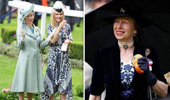Princess Anne at Royal Ascot this year Image Getty