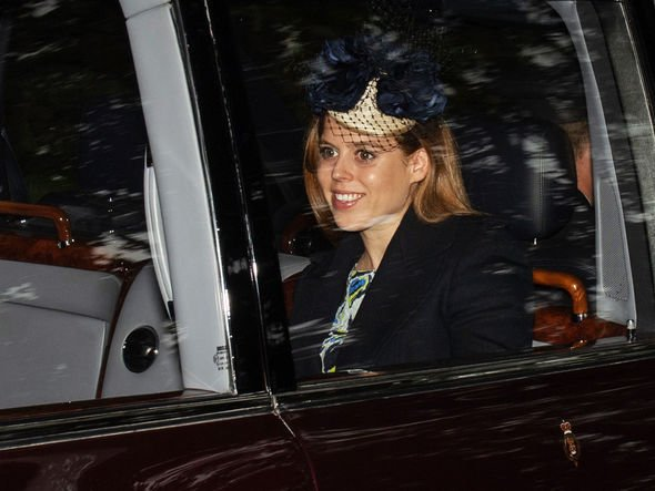 Princess Beatrice Prince Andrews eldest daughter is also at Balmoral Image Abermedia