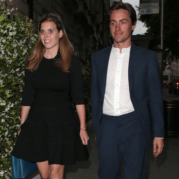 Princess Beatrice engaged Bea and Edo started dating in September Image GETTY