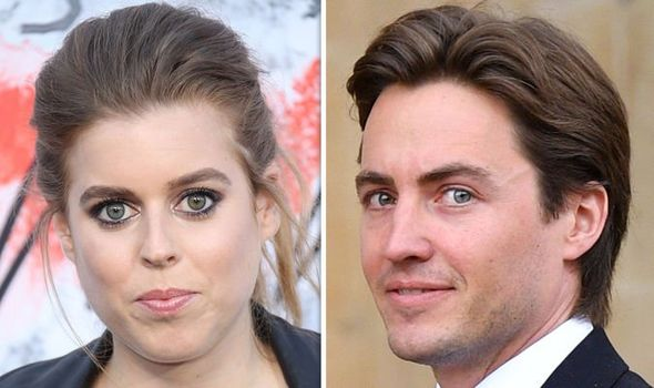 Princess Beatrice has been dating Edoardo Mapelli Mozzi for several months now Image GETTY