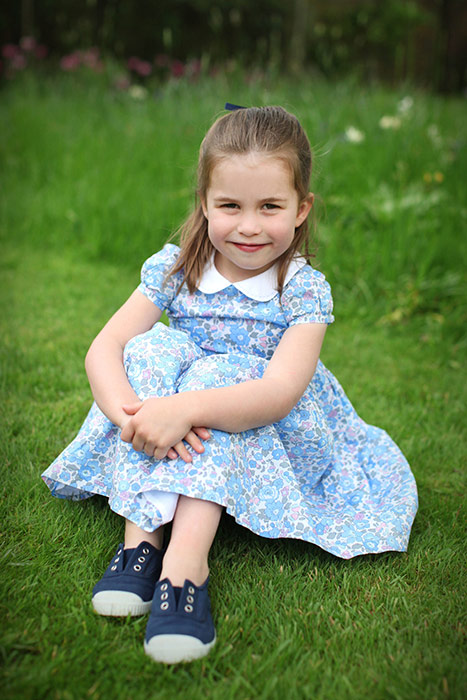 Princess Charlotte will join Prince George at Thomass Battersea next week Photo C GETTY IMAGES